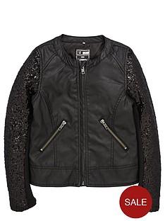 name-it-girls-pu-sequin-biker-jacket