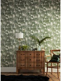 graham-brown-julien-macdonald-honolulu-palm-green-wallpaper