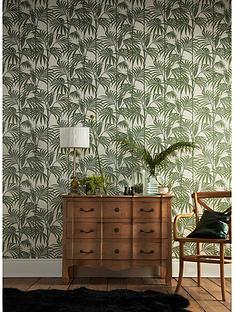 julien-macdonald-honolulu-palm-green-wallpaper