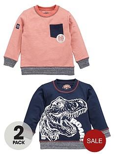 ladybird-boys-dino-sweaters-2-pack
