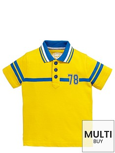 ladybird-toddler-boys-yellow-essential-jersey-polo