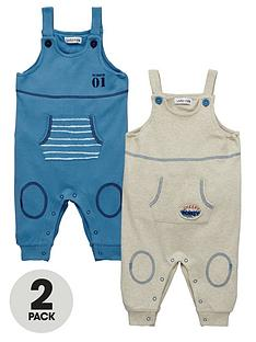 ladybird-baby-boys-jersey-dungarees-2-pack