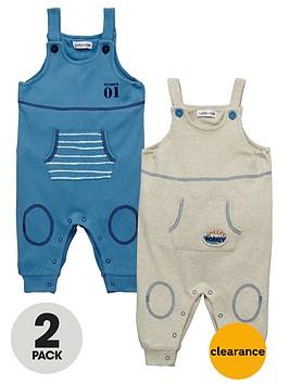 ladybird-baby-boys-jersey-dungarees-2-pack