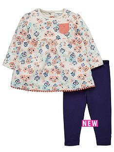 ladybird-baby-girls-floral-sweat-dress-and-legging-set