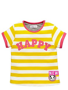 ladybird-toddler-girls-essential-yellow-stripe-single-tee