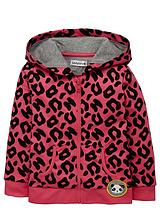 Girls Essentials Animal Print Hoodie