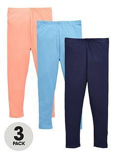 ladybird-girls-everydaynbspplain-leggings-2-pack