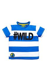 TODDLER BOYS SINGLE #WILD TEE