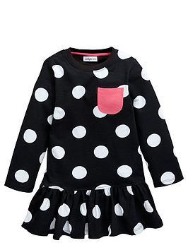 ladybird-girls-essentials-big-spot-dress