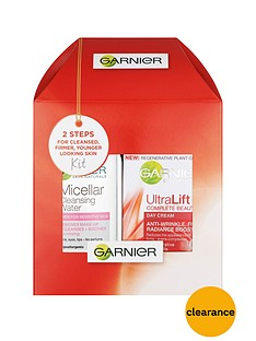 garnier-garnier-mini-micellar-125-ml-and-ultralift-day-gift-set