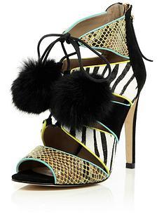 river-island-caged-tie-up-zebra-mix-colour-block-sandal