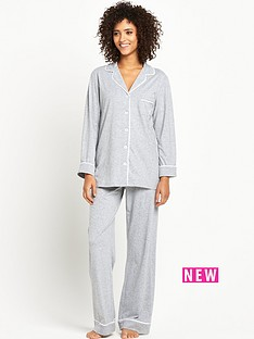 dkny-dkny-signature-long-pj-set