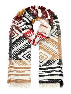 river-island-aztec-scarf