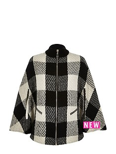 river-island-zipped-checked-cape