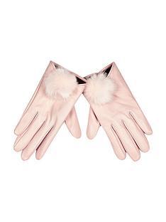 river-island-fur-pom-pom-glove