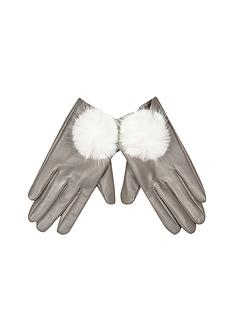 river-island-pom-pom-leather-gloves