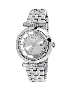 kenneth-cole-kenneth-cole-transparent-dial-with-crystals-stainless-steel-case-and-bracelet-ladies-watch
