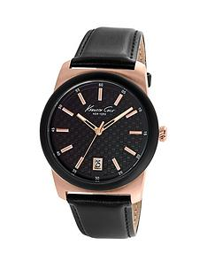 kenneth-cole-kenneth-cole-black-dial-rose-gold-case-with-black-leather-strap-mens-watch