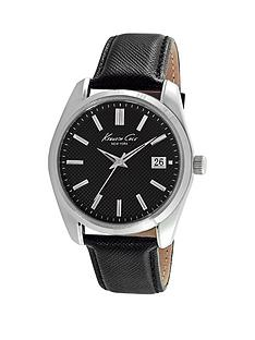 kenneth-cole-kenneth-cole-black-dial-silver-brass-case-with-black-leather-strap-mens-watch