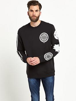 Jack & Jones Flash Crew Neck Mens Sweatshirt
