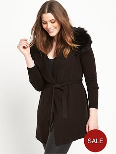 so-fabulous-faux-fur-trim-belted-wrap-cardigan