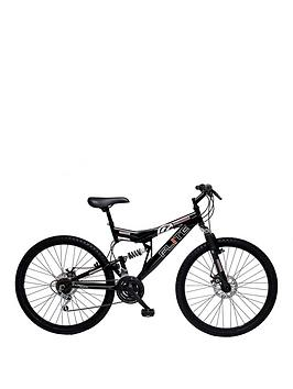 Image of Flite Phaser II Dual Suspension Mens Mountain Bike 18 inch Frame, One Colour, Men