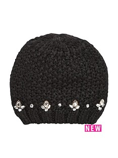 oasis-embellished-gem-knitted-beanie-hat