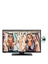 24in HD Ready Freeview LED TV With DVD