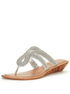 v-by-very-miley-embellished-wedge-sandal-toepost-silver