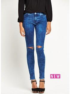 south-acid-wash-slash-knee-skinny-jeansnbsp