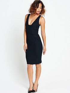 myleene-klass-deep-neckline-pencil-dress