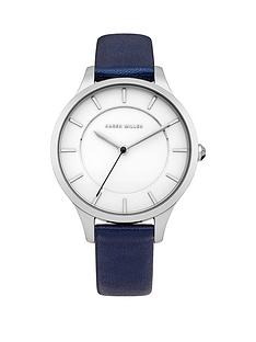karen-millen-karen-millen-white-dial-blue-leather-strap-ladies-watch