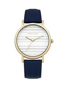 karen-millen-karen-millen-white-dial-navy-leather-strap-ladies-watch