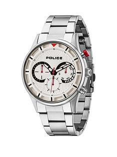 police-police-driver-chronograph-silver-dial-silver-tone-stainless-steel-bracelet-mens-watch