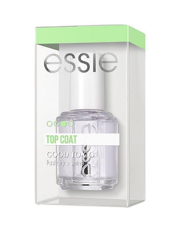 Essie Top Coat Good To Go Top Coat, Fast Dry + Shine 13.5ml
