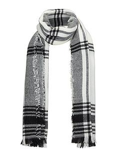 miss-selfridge-check-scarf