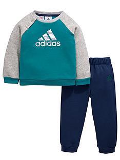 adidas-adidas-baby-boy-crew-neck-fleece-suit