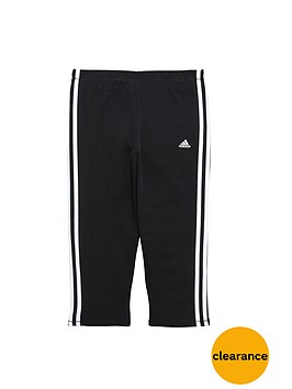 adidas-girls-three-stripe-capri-tights