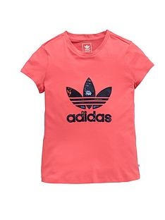 adidas-originals-girls-trefoil-logo-t-shirt