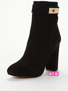 river-island-smart-heeled-boot-with-turnlock-trim