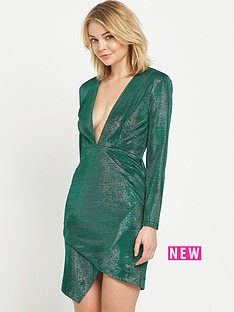 river-island-plunge-bodycon-dress