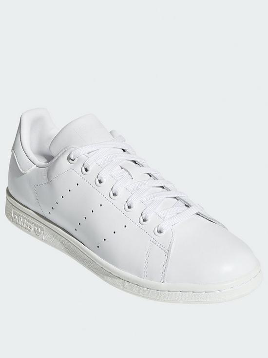 new style 87da6 56179 Stan Smith Mens Trainers - White