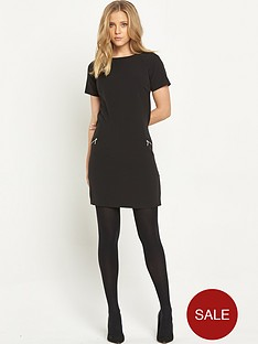 v-by-very-zip-detail-tunic-dress