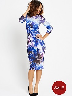 myleene-klass-floral-bodycon-dress