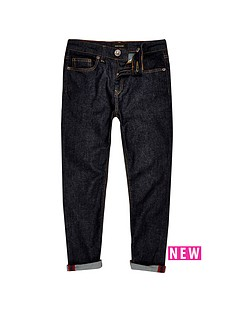 river-island-boys-dark-rinse-slim-jeans