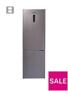 Hoover HF18XK WIFI 60cm Frost Free Wizard WiFi Fridge Freezer - Stainless Steel