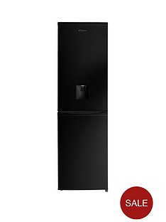 candy-ccbf5182bwk-fridge-freezer-with-water-dispenser-black