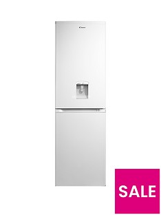 Candy CCBF5182WWK 55cm Frost-Free Fridge Freezer with Water Dispenser - White