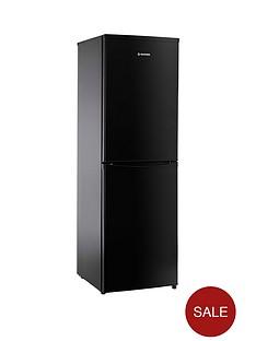 hoover-hoover-hsc17155be-55cm-freestanding-fridge-freezer-black