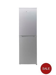 hoover-hvbf5182aknbsp55cm-frost-free-fridge-freezer-silver